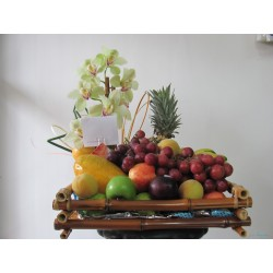 Frutero y Orquideas