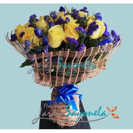 Rosas y Azules