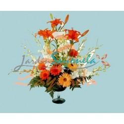 Lirios, Gerberas y Dendrobium