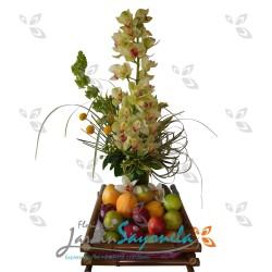 Orquideas y Frutas