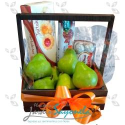 Canasta frutas